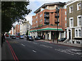 TQ2978 : Flats over a petrol station by Hugh Venables