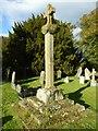 SO8299 : Preaching cross, Pattingham churchyard by Philip Halling