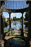 ST3505 : Long Pond, Forde Abbey by Ian Andrews