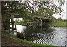 TL4279 : Sutton Gault: under the bridge by John Sutton