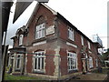 TM1587 : Railway Tavern Public House, Tivetshall St.Margaret by Adrian Cable