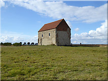 TM0308 : Chapel of St. Peter-on-the-Wall, Bradwell by Robin Webster