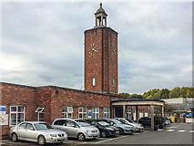TQ3939 : Clock tower, Queen Victoria Hospital by Ian Capper