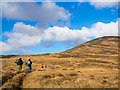 NR4454 : Walking party heading towards Dìollaid nam Fiadh by Trevor Littlewood
