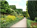 SJ2106 : Path East of mid level terrace, Powis Castle by Derek Voller
