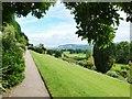 SJ2106 : Path leading to the mid level terrace, Powis  Castle by Derek Voller