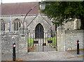 ST7274 : Gates to Holy Trinity by Neil Owen