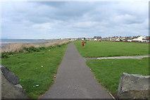 NX1896 : Ayrshire Coastal Path, Girvan by Billy McCrorie