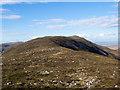NR4355 : Summit ridge of Beinn Bheigier by Trevor Littlewood