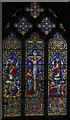 SK9843 : East window, St Martin's church, Ancaster by Julian P Guffogg