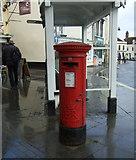 TM3389 : Elizabeth II postbox on St Mary's Street, Bungay by JThomas