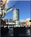 SP0786 : The Rotunda, Worcester Street, Birmingham by Robin Stott