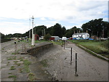SO6501 : Pier and Yacht Club slipway, Lydney harbour by Jonathan Thacker