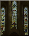 TF0039 : East window, St Michael and All Angels, Heydour by Julian P Guffogg