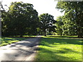 TL8161 : Ickworth House entrance at Ickworth Park by Adrian Cable