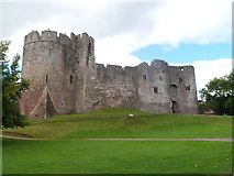 ST5394 : Chepstow Castle by Meirion