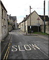 SO8700 : SLOW on Butt Street, Minchinhampton by Jaggery