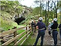 SN6640 : Kitted out and ready to go underground. The Dolaucothi Gold Mine by Derek Voller