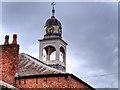 SJ9097 : Fairfield Moravian Church Cupola by David Dixon
