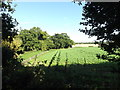 TG0722 : Farmland off Marriott's Way Path by Adrian Cable