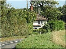 TG0822 : Houses at Pettywell Corner by Geographer