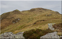 NR3772 : Ridge rising towards summit of Giùr-bheinn by Trevor Littlewood