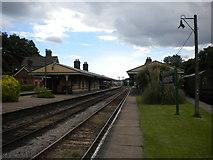 TQ3729 : Horsted Keynes station platforms by Richard Vince