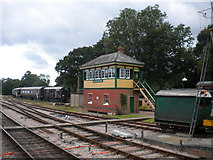 TQ3729 : Signal box, Horsted Keynes by Richard Vince