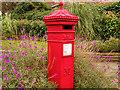 SJ9097 : Replica Victorian Postbox at Fairfield by David Dixon