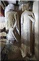 TL2659 : St Pandionia & St John, Eltisley - Recessed tomb by John Salmon