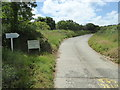 SW8437 : Private road leading to Commerans Farm by Rod Allday