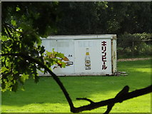 TG0723 : Container in a field by Adrian Cable