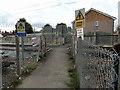 TQ5388 : Railway crossing on footpath 138 by Phil Gaskin