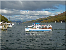 SD3787 : Looking up Windermere from Lakeside by Chris Allen