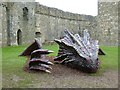 SN4007 : Kidwelly Castle's Dragon by Derek Voller