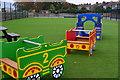 SU6000 : Colourful playground train at Forton by David Martin