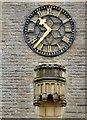 SD3037 : St Paul's clock by Gerald England