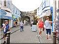 SN1300 : St. George's Street, Tenby by Derek Voller