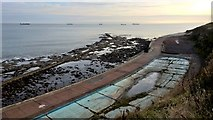 NZ3672 : Once a smart paddling pool by Chris Morgan