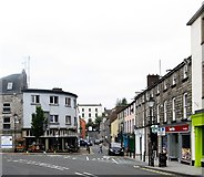 H6733 : Mill Street, Monaghan, viewed from Church Square by Eric Jones