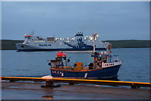 HU4741 : Shipping in Lerwick harbour by Mike Pennington