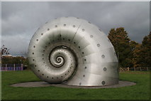 SK3871 : The 'Chesterfield Snail' by Dave Pickersgill