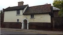 TQ3296 : Enfield Vicarage, Silver Street, Enfield by Christine Matthews