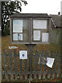 TL9121 : Easthorpe Village Notice Board by Adrian Cable