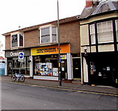 SO5139 : Herefordshire Liberal Democrats office in Hereford by Jaggery