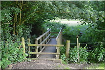 TQ3328 : Footbridge over the River Ouse by N Chadwick