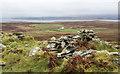 NR2157 : Ruin on east ridge of Beinn Tart a' Mhill by Trevor Littlewood
