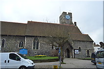 TR1458 : Church of St Dunstan's Without the West Bar by N Chadwick
