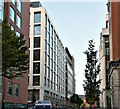 J3373 : The Clarendon House site, Belfast - November 2016(1) by Albert Bridge