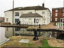 SO8171 : The Wharf (1), Mart Lane, Stourport-on-Severn by P L Chadwick